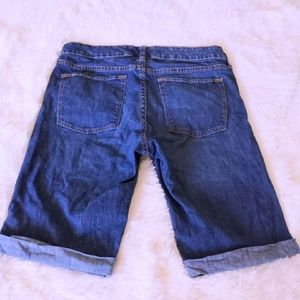 Banana Republic Shorts - BANANA REPUBLIC SHORTS BERMUDA BLUE DENIM JEANS